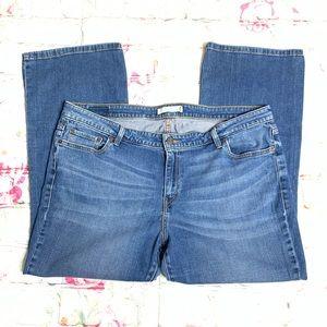 LEVI'S 590 Boot Cut Womens Jeans Sz 20